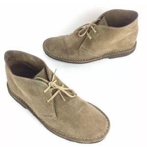 J Crew MacAlister Boot Stone Brown Suede Italy